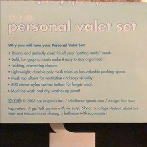 O.R.E. Originals Bags - Personal valet set ✈️